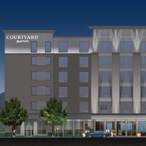 Courtyard Marriott Rendering